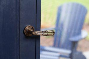 Door Handles and Locksets in use bronze