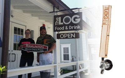 Log Tap Handle for The LOG Restaurant
